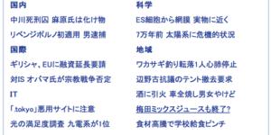 Yahoo!ニュースで阪神梅田駅名物「ミックスジュース」も消える?って記事が掲載され、Twitterでも話題になってる!