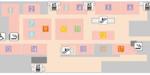 大阪ステーションシティのサウスゲートビルディング16F【うまいものプラザ】に「ベーカリーレストラン サンマルク」がオープンしてる